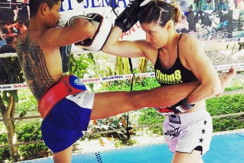 Muay Thai Training in the Thai Countryside