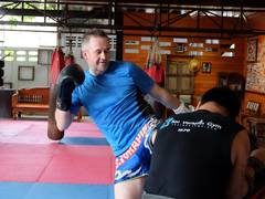Traditional Muay Thai Fighting Camp