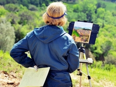 Tuscan Plein Air Painting Vacation