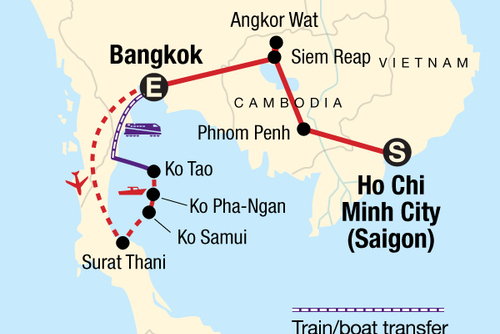 Classic Cambodia & Thai Islands – East Coast