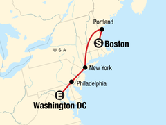Northeast Discovery – Boston to DC