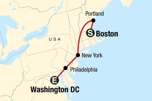 Northeast Discovery – DC to Boston