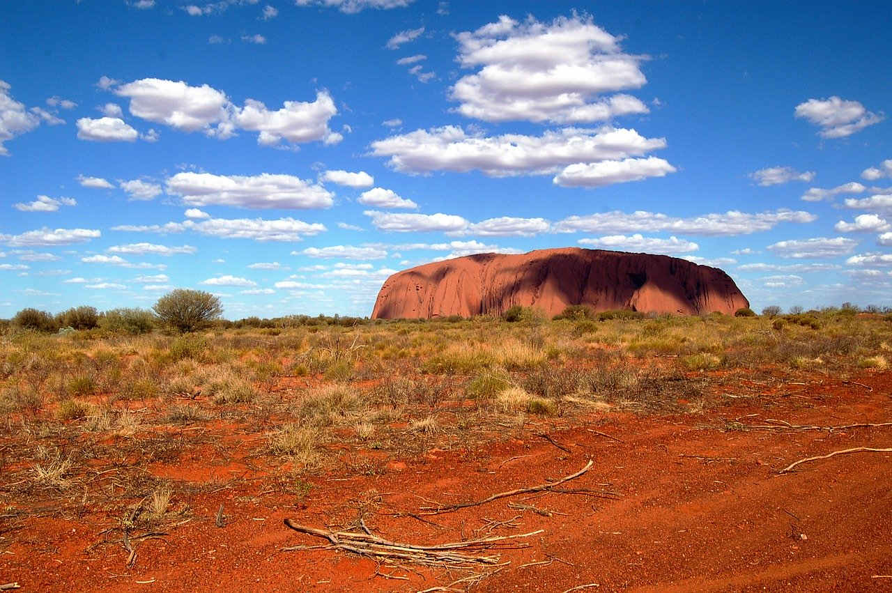 Ayers Rock, Aussie Outback