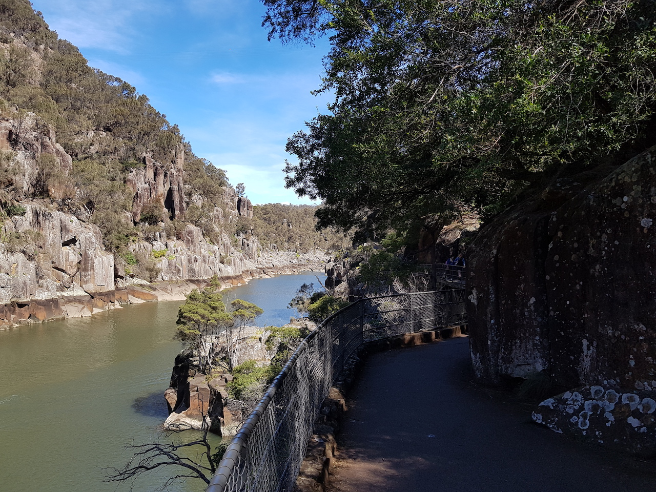 Cataract Gorge in Launceston