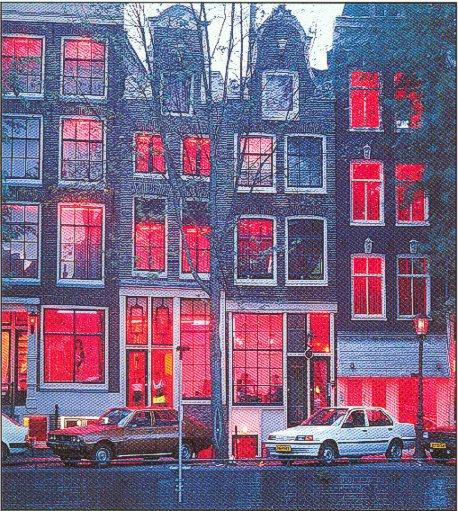 Amsterdam best attractions red light district