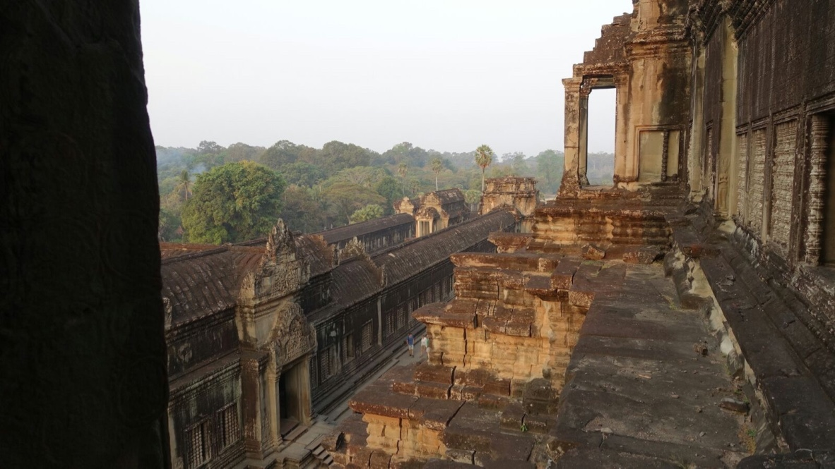 Angkor Wat View from the top