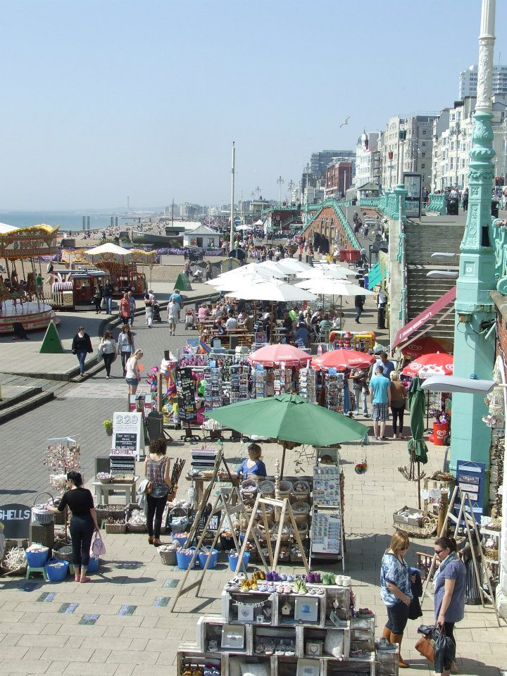 Brighton beach shops
