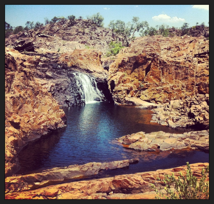 Edith Falls (60km north of Katherine, Northern Territories)