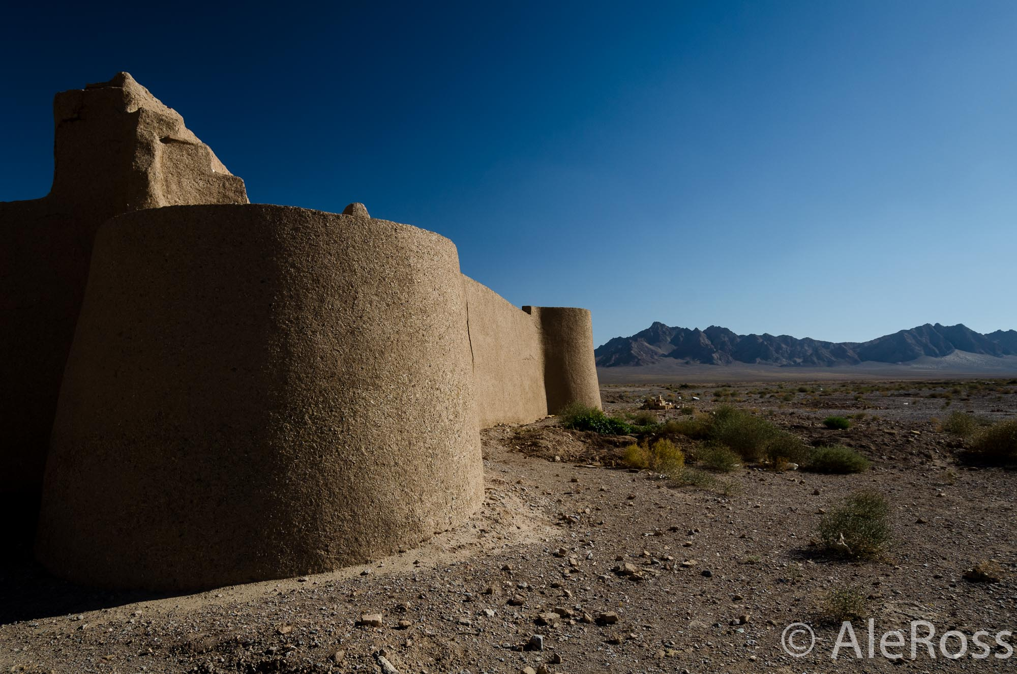 Iran Caravanserais in the Middle of the Desert