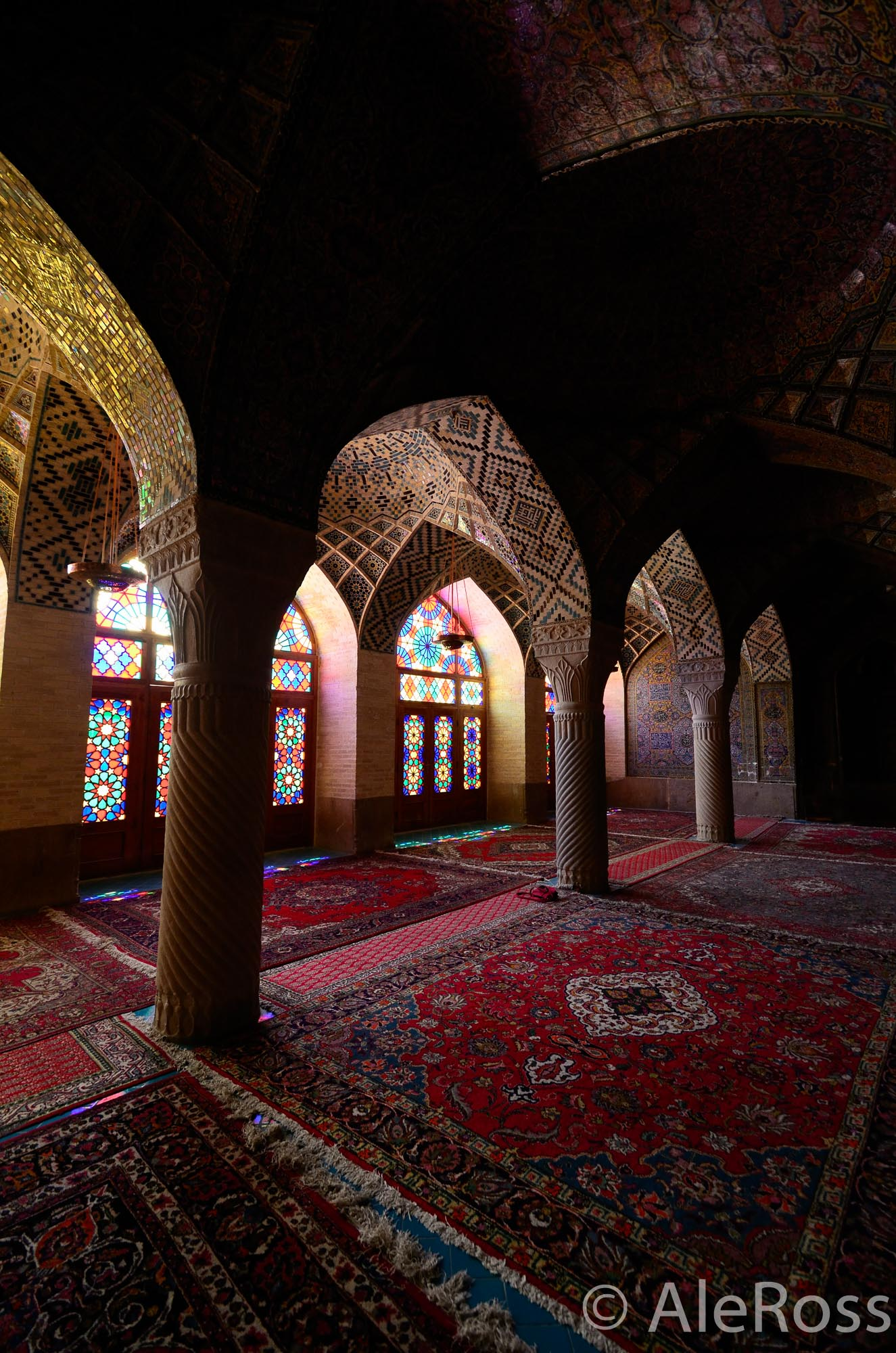 Iran Colourful Mosque