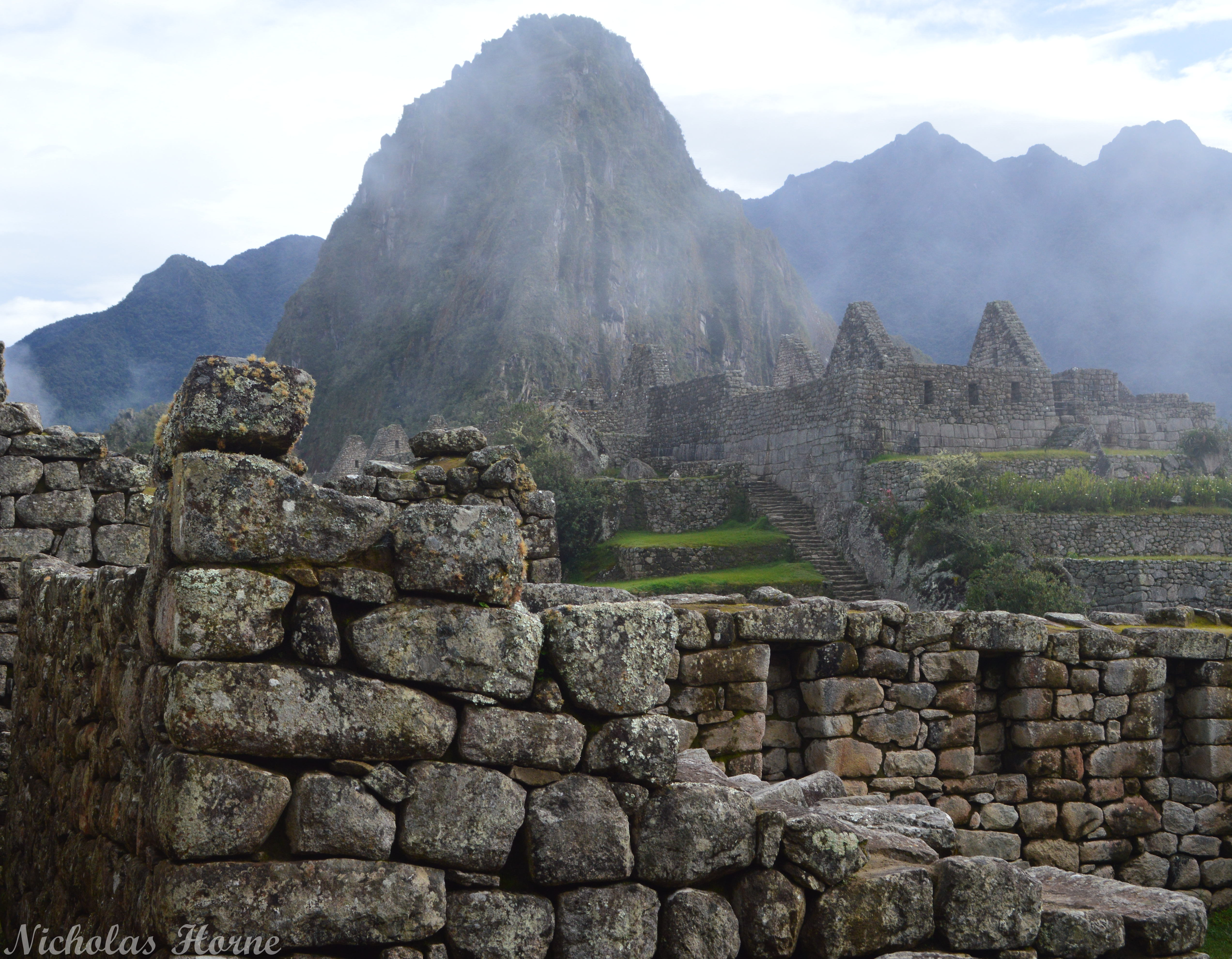 Machu Picchu SLR Camera Shot