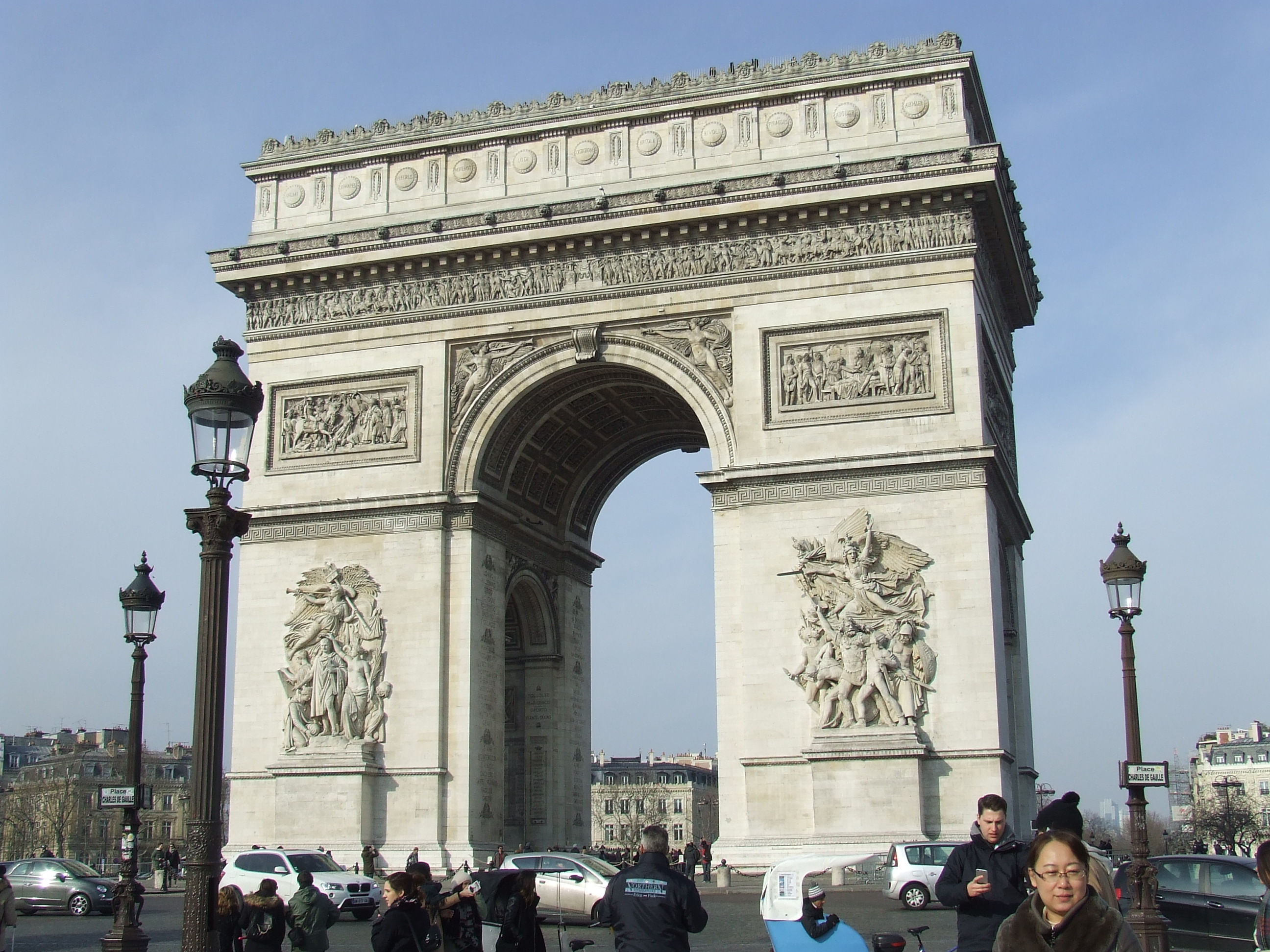 Arc de Triomph, Paris