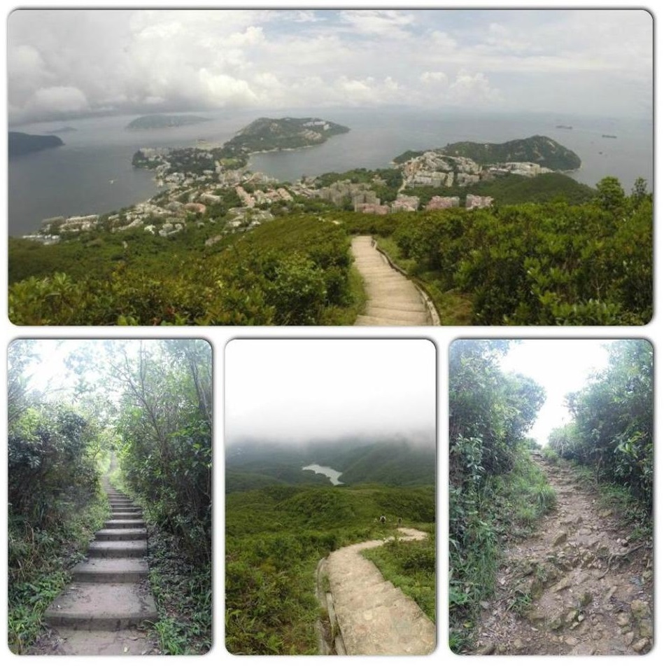 Twin Peaks and 1000 Steps Hiking Trail Hong Kong