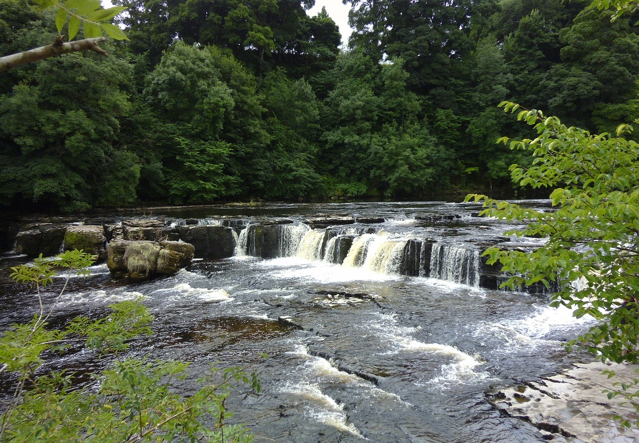 Aysgarth Waterfalls Yorkshire Dales