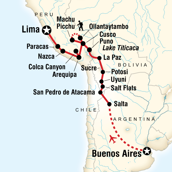 Buenos Aires to Lima
