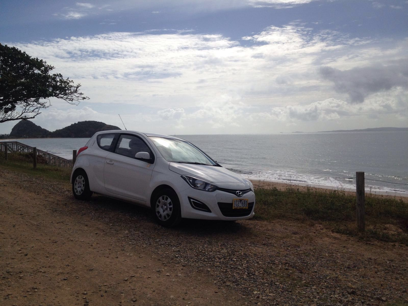 Driving East Coast Australia Car