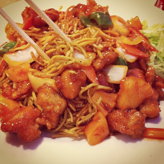 Best Places to Eat Out in London on a Budget - Chop Chop Noodles