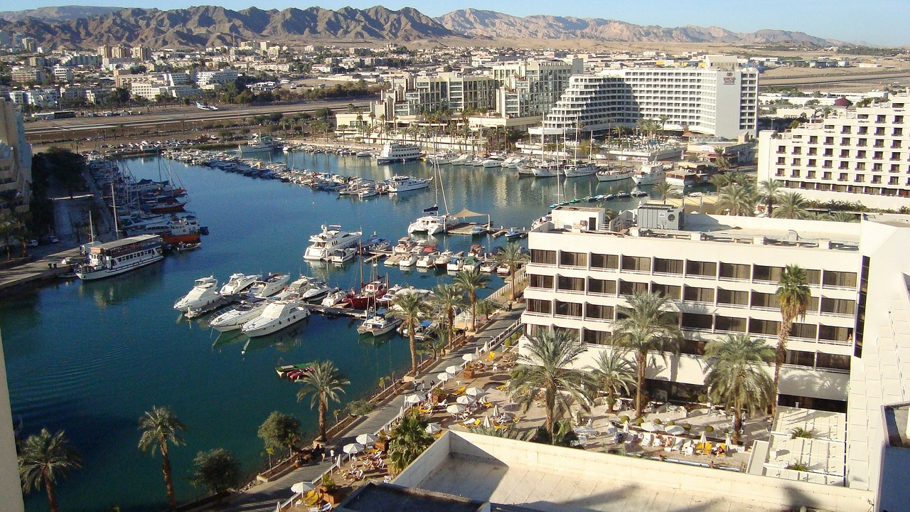 Eilat harbour