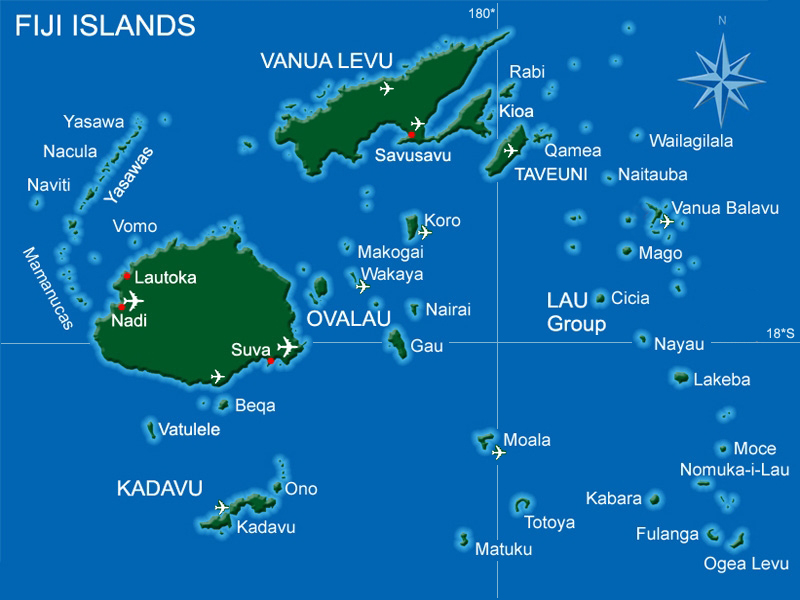 Fiji Volunteering Locations
