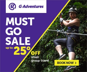 G Adventures Tour Discount