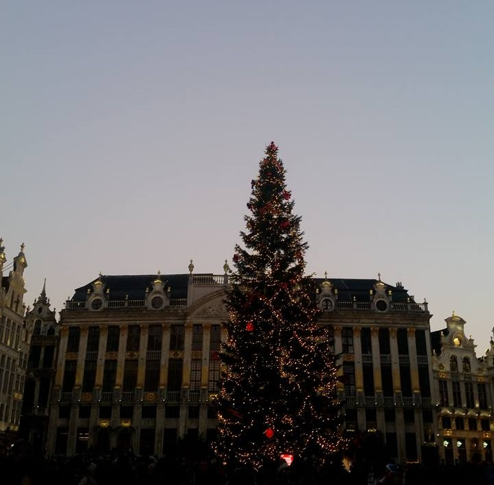 Grande place Brussels Christmas