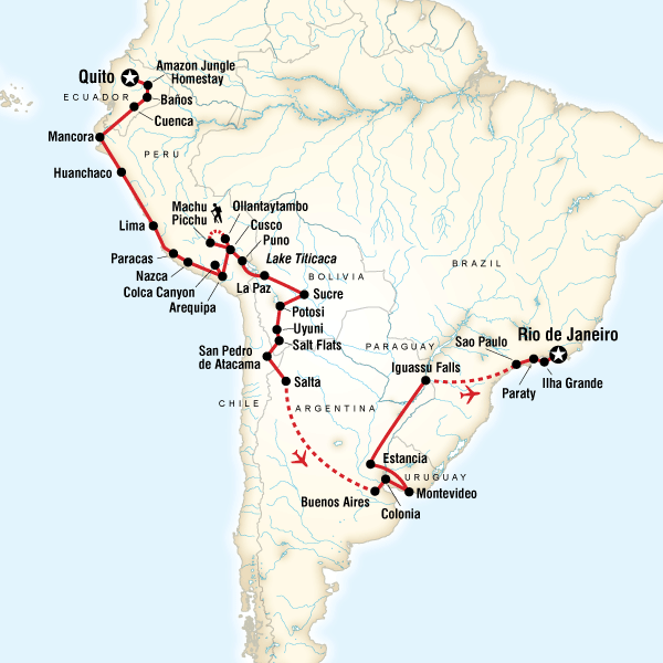Great South American Journey