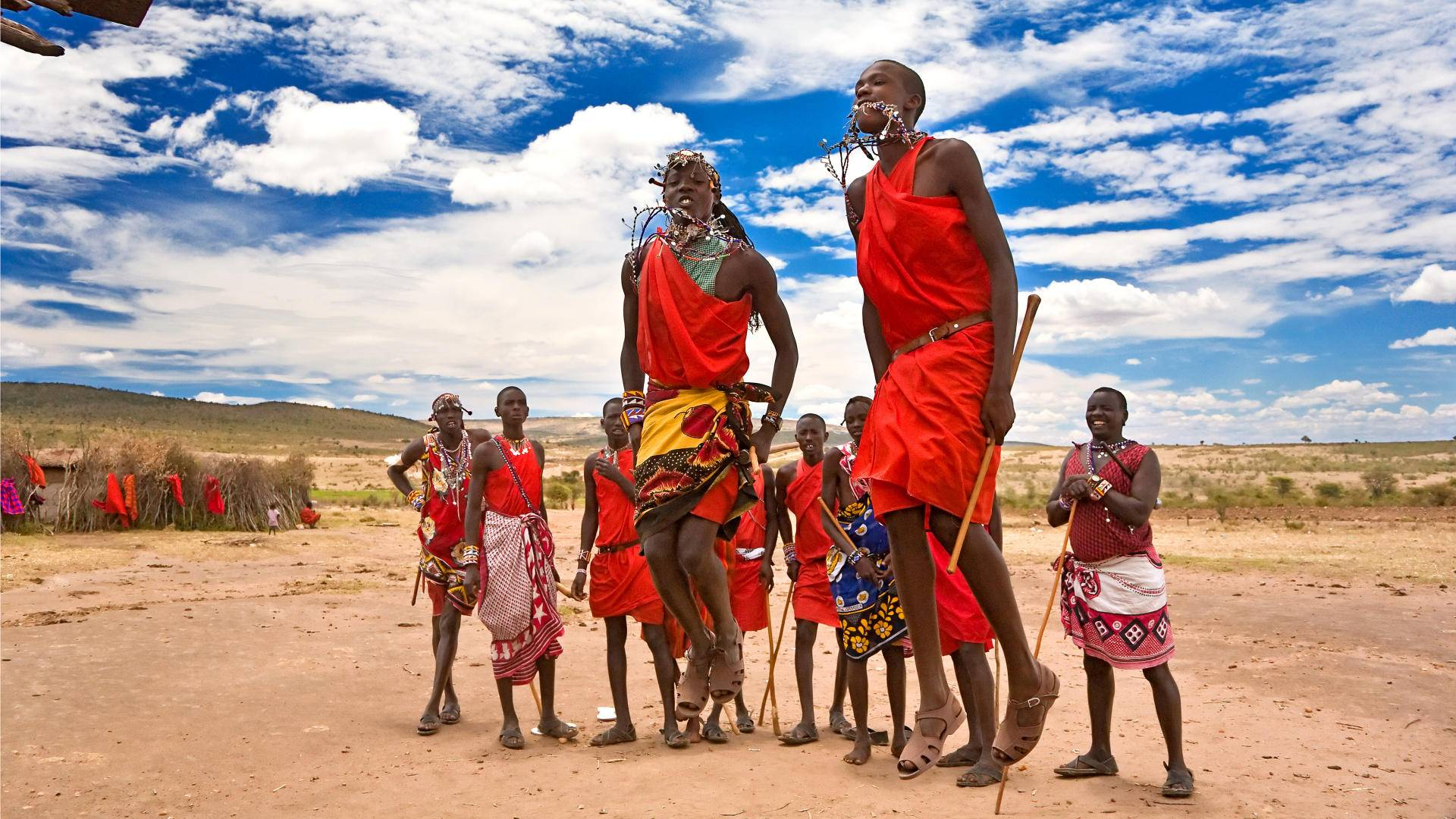 Volunteer with the Maasai Mara tribe in Kenya