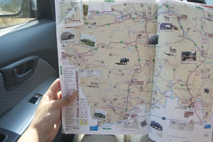 kruger self drive safari route