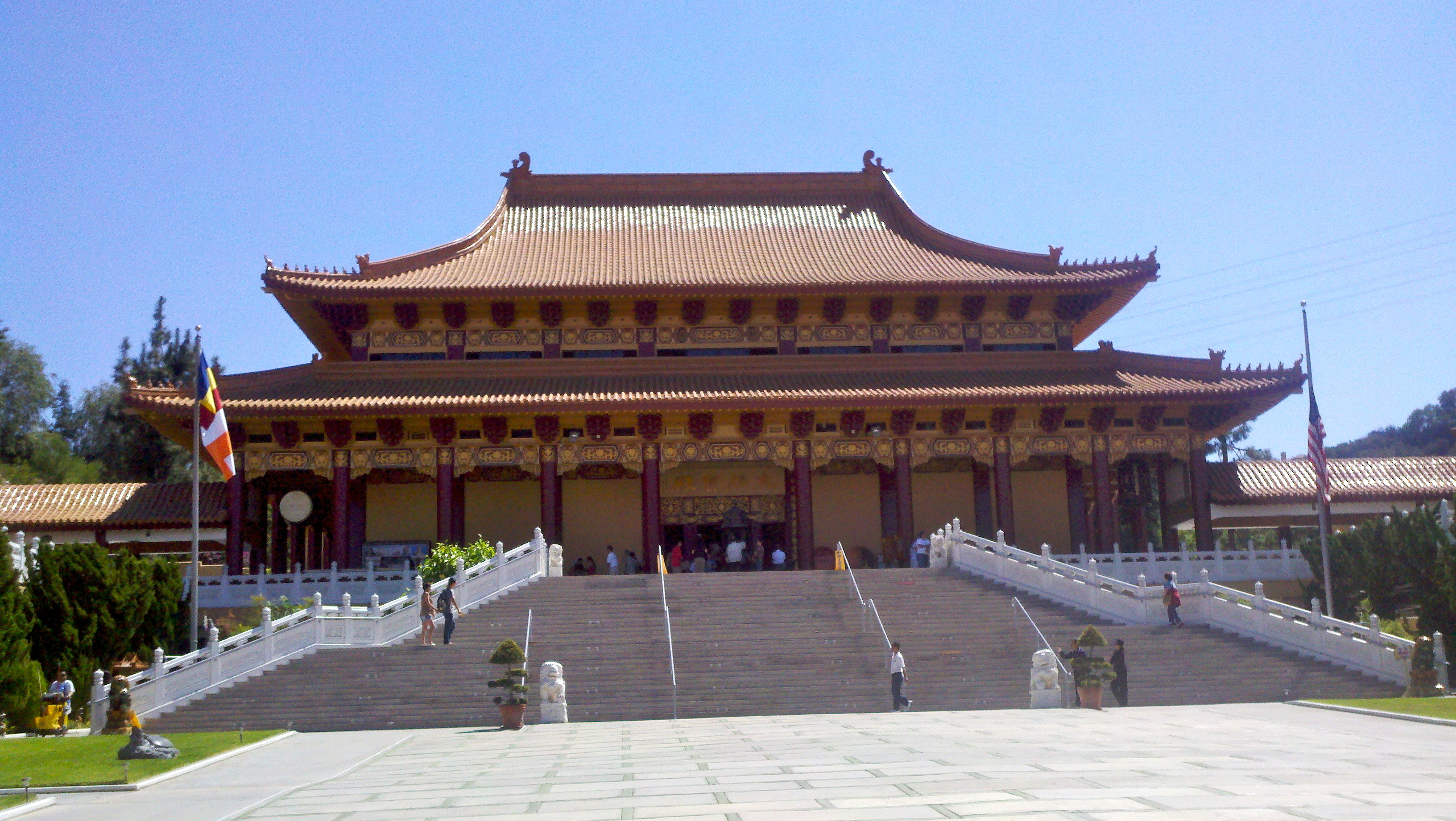 Hsi Lai Temple, California