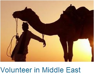 Volunteer in Middle East