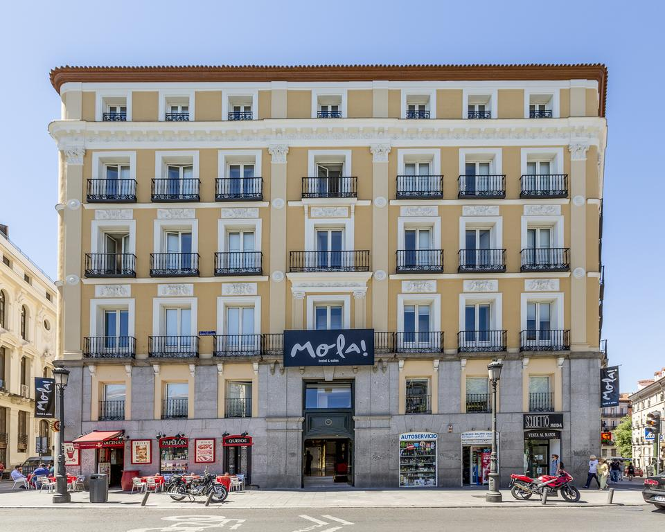 Mola hostel, Madrid