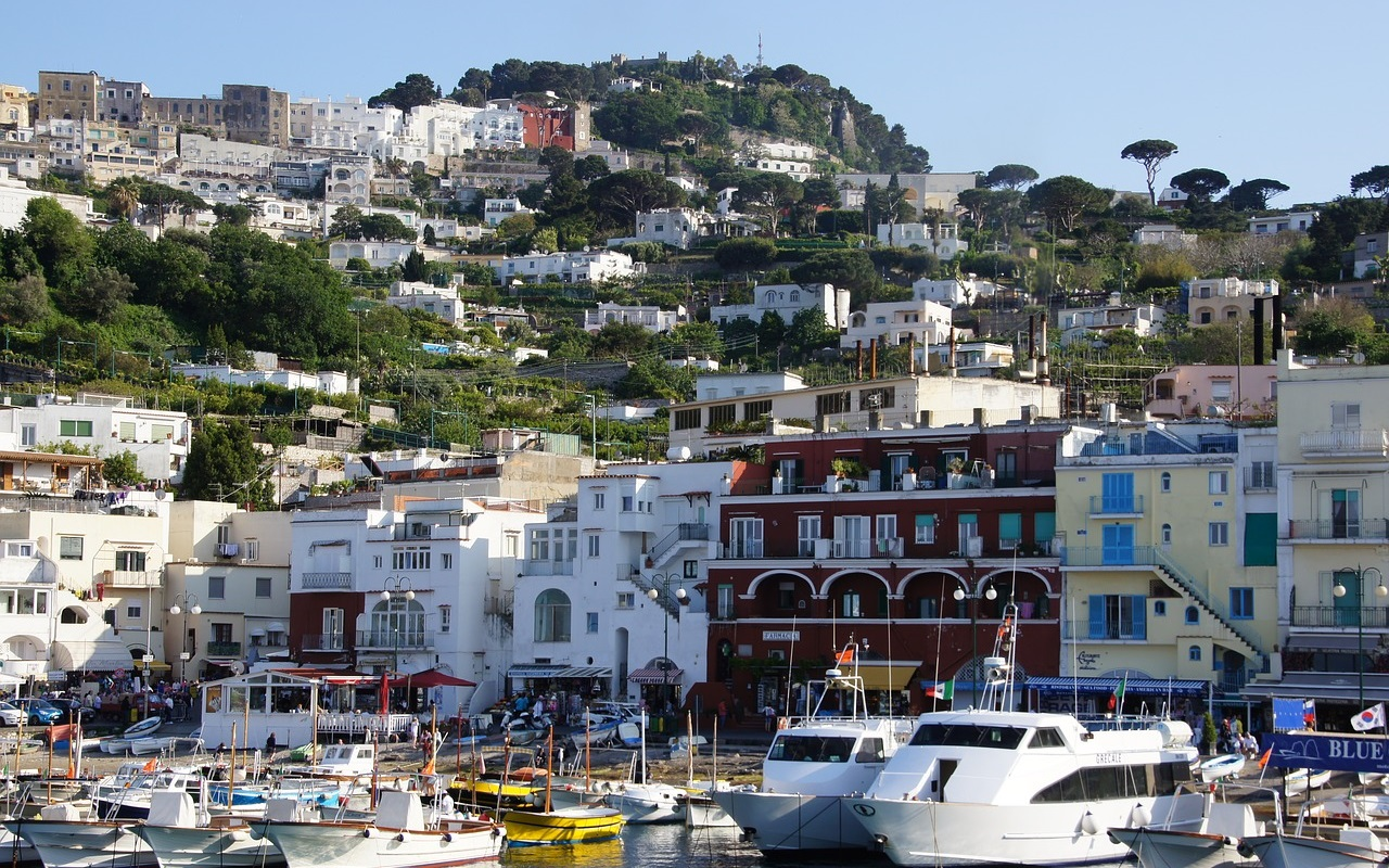 Day trips from Naples - Capri