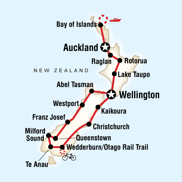 New Zealand Encompassed