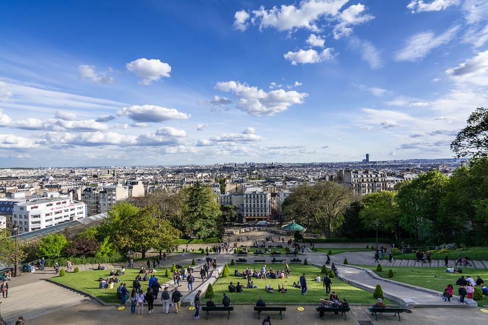 View from Sacré Coeur, Paris