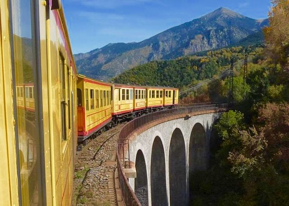 Pyrenees Yellow Train Travel