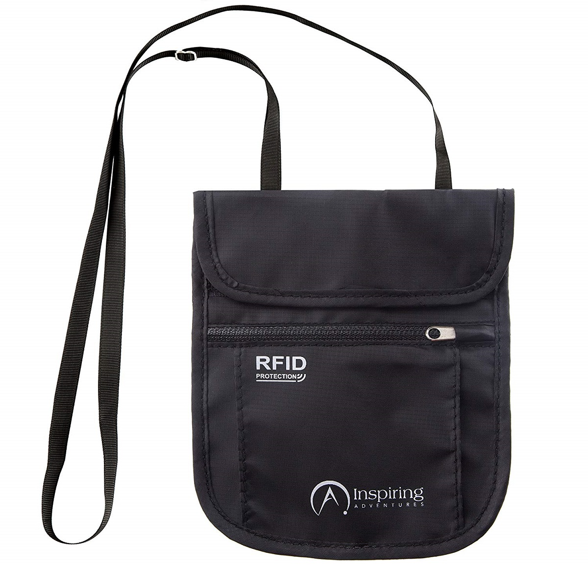 RFID Travel Neck Wallet
