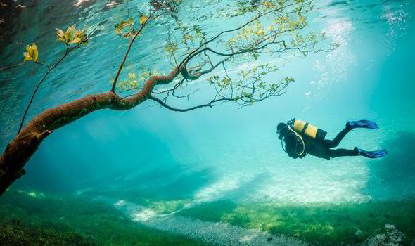Scuba Diving in Austria