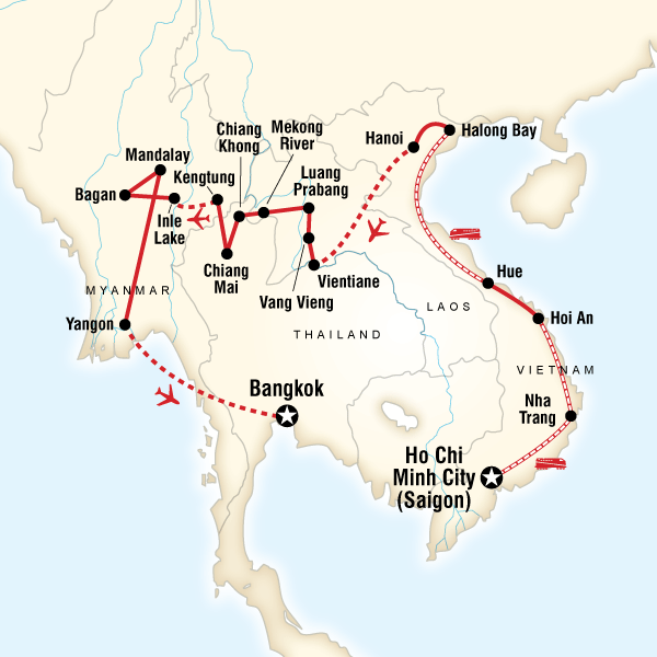 South-East Asia Shoestring