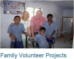 Volunteer Abroad Family Projects
